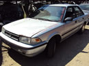 1991 TOYOTA COROLLA 4 DOOR DX MODEL 1.6L MT FWD COLOR BLUE Z13500