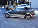 1986 TOYOTA MR2 2 DOOR COUPE 1.6L AT COLOR BLACK Z13513