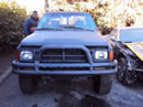 1984 TOYOTA PICK UP TRUCK DLX MODEL REGULAR CAB 2.4L CARBURETOR  MT 4X4 COLOR BLACK Z13574