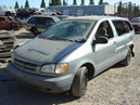 2000 TOYOTA SIENNA VAN, V-6 AUTO TRANS, COLOR:GRAY, SUPER LOW MILES ,STK: Z-09035