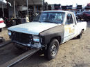 1984 TOYOTA PICK-UP HILUX, 2.4L EFI AUTO 2WD, COLOR WHITE, STK Z15003