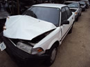 1992 TOYOTA COROLLA 4CYL. , 3SPEED TRANSMISSION , COLOR-WHITE STK# Z10094