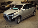 2005 TOYOTA MATRIX XR 18L ENGINE, AUTOMATIC FWD TRANSMISSION, COLOR SILVER, STK # Z11183
