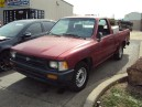 1995 TOYOTA PICK UP, 2.4L 5SPEED 2WD, COLOR RED, STK Z15892