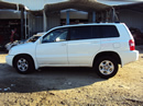 2003 TOYOTA HIGHLANDER SUV 2.4L AT FWD COLOR WHITE STK Z12337