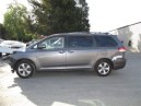 2012 TOYOTA SIENNA LE, 3.5L 2WD AUTO, COLOR GRAY, STK Z15904