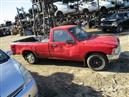1989 TOYOTA TRUCK DLX STD CAB RED 2.4L AT 2WD Z16272