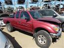 1997 TOYOTA TACOMA EXTRA CAB RED 3.4 MT 4WD Z19735