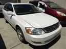2001 TOYOTA AVALON XLS WHITE 3.0L AT Z17746