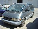 1991 toyota previa van le model,2.4l at fwd color blue